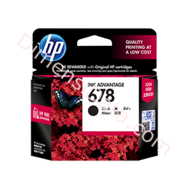 Jual Tinta / Cartridge HP Black Ink  678 [CZ107AA]